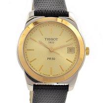 Tissot PR 50 Gold/Steel 36mm Gold No numerals
