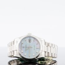 Rolex Day-Date Or blanc 36mm