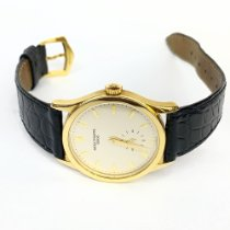 Patek Philippe Calatrava Yellow gold 33,5mm Silver No numerals United States of America, New York, New York