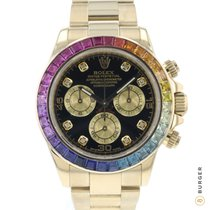 Rolex Daytona Yellow gold 40mm Black Arabic numerals