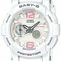 Casio Baby-G Plastic 45mm White Arabic numerals United States of America, New Jersey, Somerset