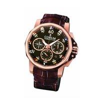 Corum Admiral's Cup Challenger nowość Automatyczny Chronograf Zegarek z oryginalnym pudełkiem i oryginalnymi dokumentami 753.692.55.0002AG12