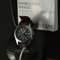 Pulsar Pulsar V657-X063 Very good Steel 39mm Quartz