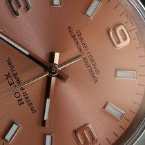 Rolex Oyster Perpetual 34 Acier 34mm Rose Sans chiffres France, Thonon les bains