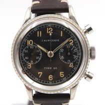 Auricoste Type 20  Military  Fly Back  Chronograph Serviced