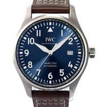 IWC Pilot Mark Acero 40.00mm Azul