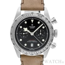 チュドール (Tudor) Heritage Black Bay Leather 79350