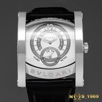 Bulgari Assioma White gold 48 mm case lug to lugmm Silver Arabic numerals