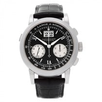 A. Lange & Söhne Chronograph 39mm Manual winding pre-owned Datograph Black