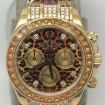Rolex Cosmograph Daytona SACO Leopard Yellow Gold