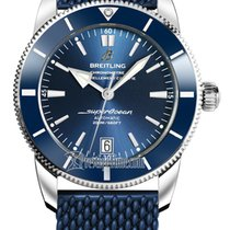 Breitling Superocean Heritage II 42 Steel 42mm Blue United States of America, New York, Airmont