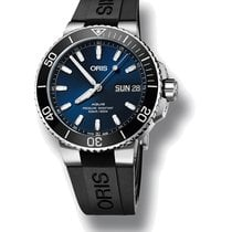 Oris Steel Automatic Blue No numerals 45.5mm new Hammerhead Limited Edition