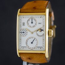 IWC Novecento Yellow gold 27mm White