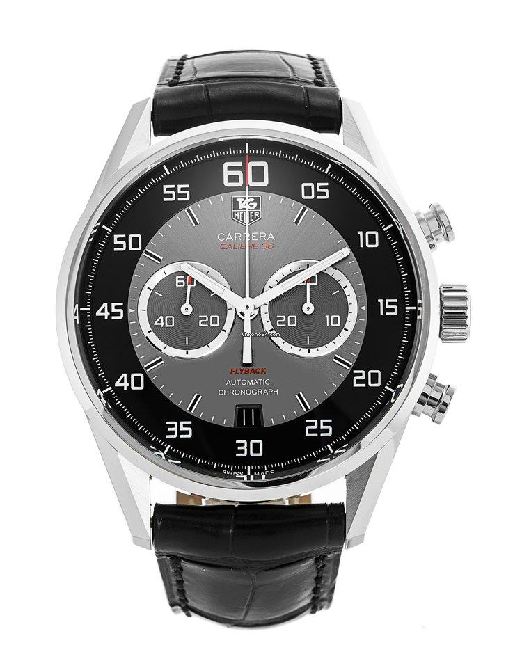 3150f8b6833 TAG Heuer Carrera Calibre 36 - Todos os preços de relógios TAG Heuer  Carrera Calibre 36 na Chrono24