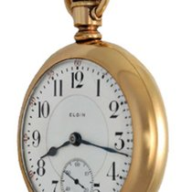 Elgin Yellow gold Manual winding 214 pre-owned