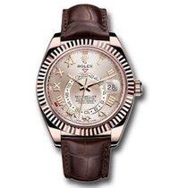 Rolex Sky-Dweller Rose gold 42mm Roman numerals United States of America, Pennsylvania, Holland
