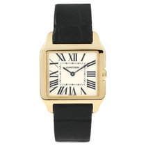 Cartier Santos Dumont Yellow gold 38mm White Roman numerals
