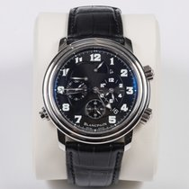 Blancpain Léman Réveil GMT Steel 40mm Black Arabic numerals United States of America, California, 92694