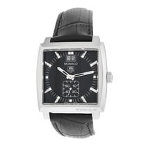 TAG Heuer Monaco Lady Steel 36mm Black Arabic numerals