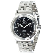 Oris pre-owned Automatic 38mm Black Sapphire Glass 5 ATM