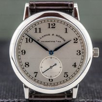 A. Lange & Söhne 1815 Platinum 36mm Silver Arabic numerals United States of America, Massachusetts, Boston