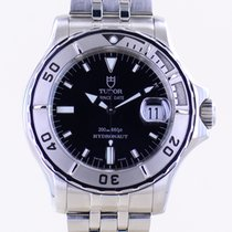 Tudor Hydronaut Steel 40mm Black No numerals