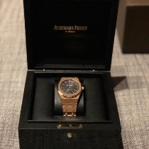 Audemars Piguet Royal Oak Selfwinding tweedehands 41mm Zwart Datum Roségoud