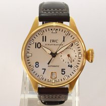 IWC Rose gold Automatic Silver Arabic numerals 46mm pre-owned Big Pilot