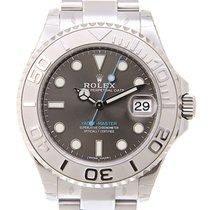 Rolex Yacht-Master 37 nuevo Automático Reloj con estuche y documentos originales 268622GY_O