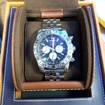Breitling Chronomat GMT Steel 47mmmm Black No numerals United States of America, New York, Centereach