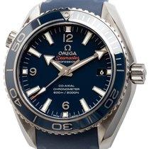Omega Seamaster Planet Ocean Titânio 42mm Azul