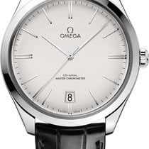 Omega De Ville Trésor Steel 40mm Silver United States of America, New York, Airmont
