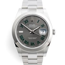 Rolex Datejust Steel 41mm Roman numerals