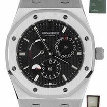 Audemars Piguet Royal Oak Dual Time Acero 39mm Negro