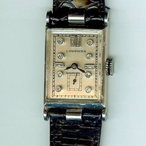 Longines Palladium Manual winding Silver No numerals 27mm pre-owned