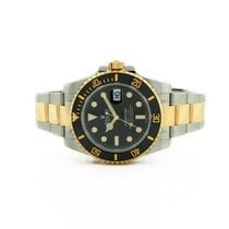 Rolex 116613LN Unused / Unworn Two Tone Submariner Black Dial