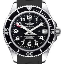 Breitling Superocean II 36 Steel 36mm Black Arabic numerals United Kingdom, London