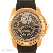 Cartier Calibre de Cartier Oro rosa 42mm Negro