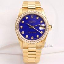 Rolex Midsize DateJust 68278 Rare Factory Lapis Lazuli Diamond...