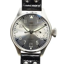 IWC Big Pilot Steel 46mm Silver