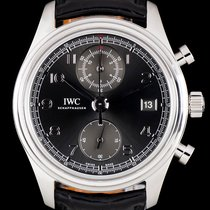 IWC Stainless Steel Grey Dial Portuguese Chronograph IW390404
