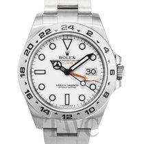 롤렉스Explorer II,새 시계/미 사용,정품 박스 있음, 서류 원본 있음,스틸