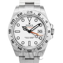 ロレックス (Rolex) Explorer II White/Steel Ø42 mm - 216570