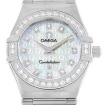 Omega Constellation Ladies Steel 22.5mm Mother of pearl