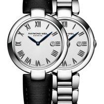 Raymond Weil SHINE Leather Strap Women's Watch 1600-ST-00659