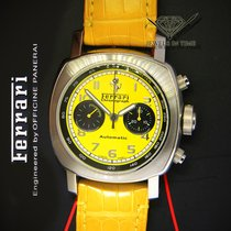 Panerai Ferrari Granturismo Steel Yellow Mens 45mm Watch...
