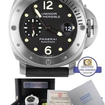 Panerai PAM 025 Luminor Submersible Black Automatic Titanium 44mm