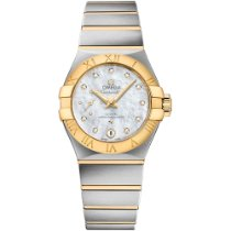 Omega Constellation Petite Seconde Gold/Steel 27mm White United States of America, New York, New York