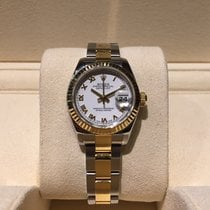 Rolex Lady-Datejust 26mm Steel and Gold B&P