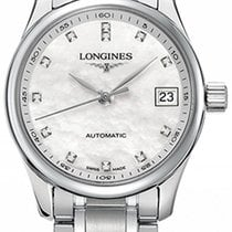 Longines Master Collection Steel 25.5mm Mother of pearl